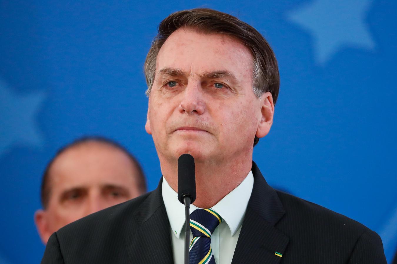 """""""Vetarei o aumento do fundão eleitoral"""", afirma Bolsonaro"""