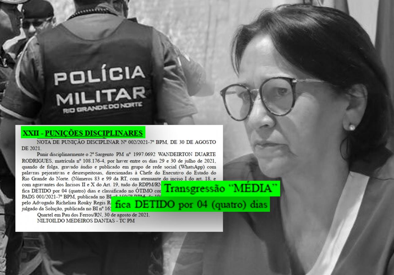Policial recebe punição e fica detido por 4 dias por ter criticado Fátima