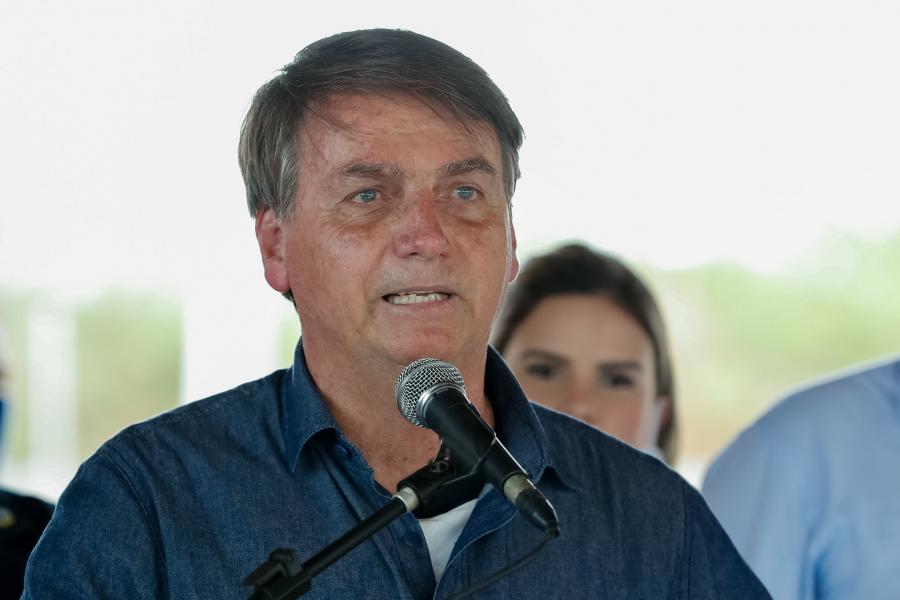 Bolsonaro diz que decidiu não tomar a vacina contra a Covid-19