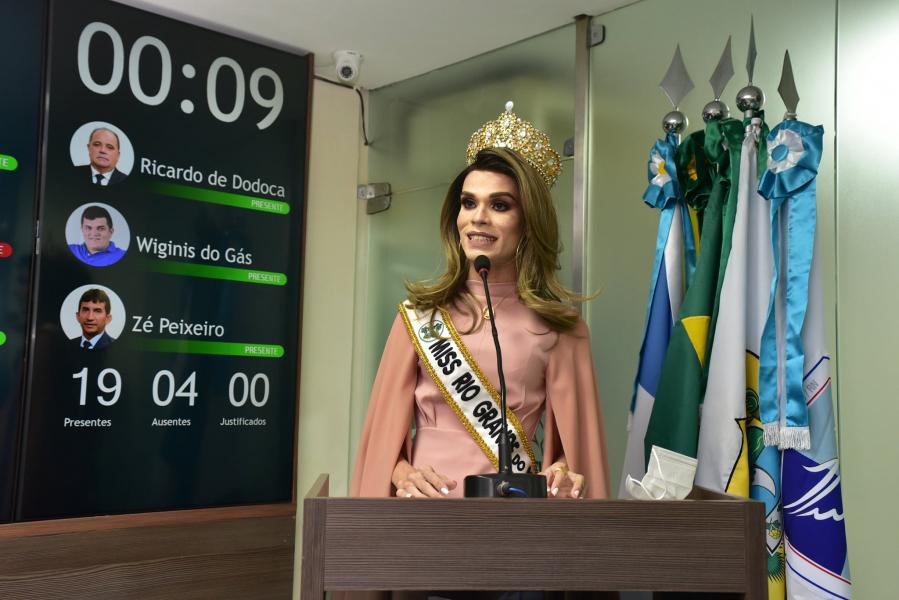 Miss RN Diversidade pede políticas inclusivas para comunidade LGBTQI+ em Mossoró