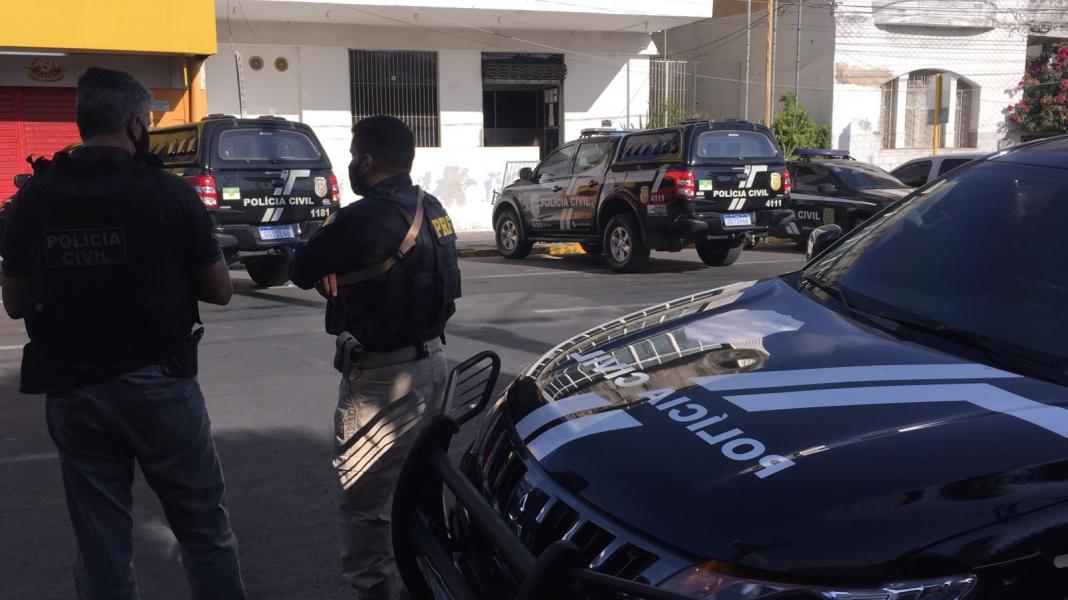 Polícia cumpre mais de 40 mandados de prisão e apreensão em Mossoró