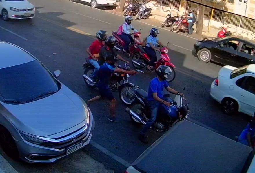 Vídeo flagra execução de entregador em Mossoró